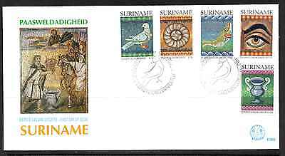 Suriname 1983 Fdc – Easter #a0469