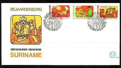 Suriname 1980 Fdc – Welfare Of The Aged #a0935