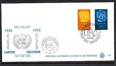 Suriname 1970 Fdc – United Nations #a0404