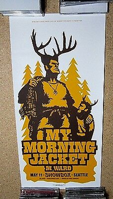 My Morning Jacket Concert Poster Ames