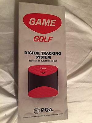 NEW GAME Golf Pro Digital Shot Tracking System, Red/Black  $249