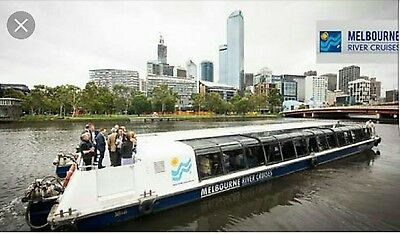 Melbourne River Cruise - 1 hour sightseeing cruise on the Yarra voucher