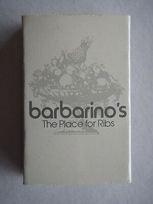 Barbarino's The Place For Ribs St Kilda Bourke Doncaster Grey Matchbox