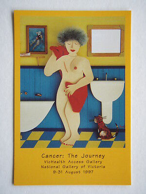 Cancer The Journey Daffodil Day Aug 22 1997 Advert Avant Card #1546 Postcard