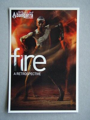 Fire - A Retrospective - Bangarra Dance Theatre Avant Card #13563 Postcard