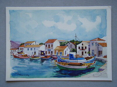Images Of Greece MH 8522 E. Ehmiths Greeting Card