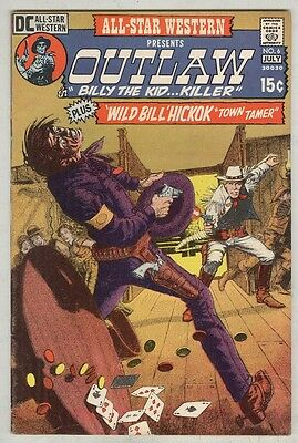 All-Star Western #6 July 1971 VG/FN Gray Morrow cover, Billy the Kid begins