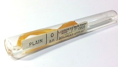 Surgical Catgut Vintage Glass Phial, Medical Collectible