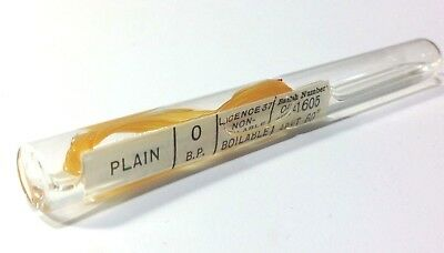 Vintage Surgical Catgut Suture in  Glass Phial  Medical Collectible