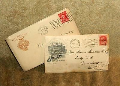 1895, 1898 & 1907 Letters To The Hadley Children From Mother & Father