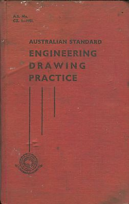 Australian Standard Engineering Drawing Practice 1951, 189 pages
