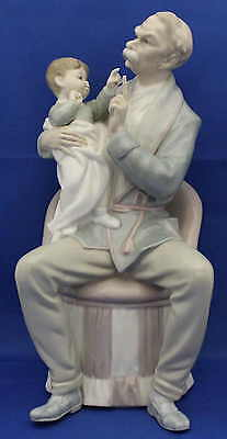 """Lladro Figure - """"Grandfather"""" - Large and Beautiful manufactured in Spain. Nice."""