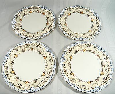 4 MINTON OXFORD S71 China Salad / LUNCHEON  PLATES 9 inches