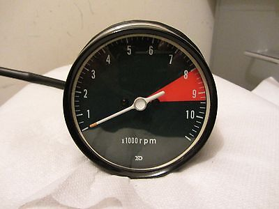 1972 CB750 Honda K2 Tachometer Gauge Refurbished Band Clamp Type