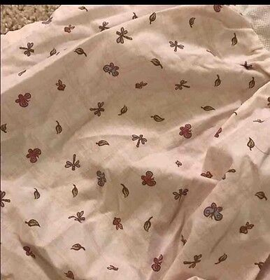 Classic Winnie The Pooh Flowers Bed Skirt For Crib (cribskirt)