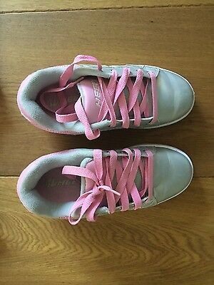 Heeley's skate shoes pink and silver size EUR35