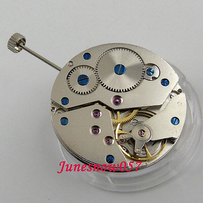 17 Jewels classic 6498 Mechanical Hand-Winding movement fit men's watch M14
