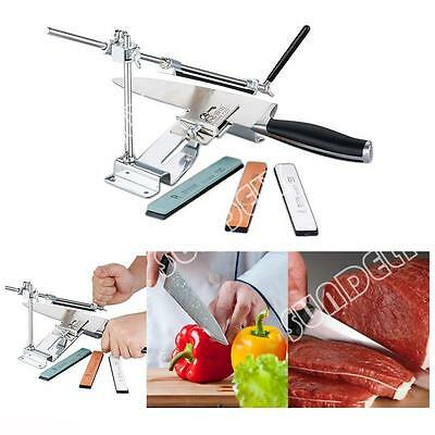 Sharpener Professional Kitchen Sharpening System Fix-angle With Stones UK Stock