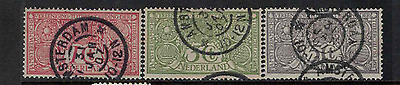 Netherlands 1906 TB used