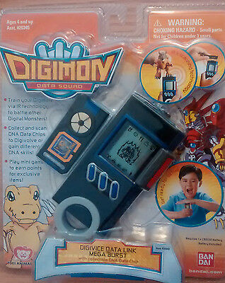 Digimon Data link Mega Burst (Blue) RARE