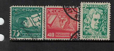 Netherlands 1928 various mint & used