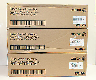 Xerox 008R13052 Fuser Web Assembly, DocuColor 5000, 5000AP, 6060, 7000. 700, OEM
