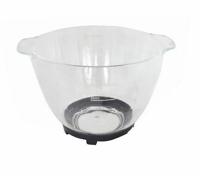 Kenwood At550 Chef Mixer Glass  Bowl Brand New In Box