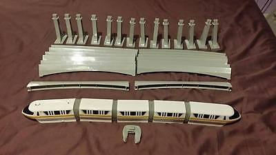 Walt Disney World Playset 1st Edition YELLOW Monorail *Collectable* *Rare*