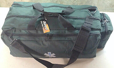 Medical Emergency EMS EMT Paramedic Oxygen Trauma Gear Supply Bag - Hunter Green