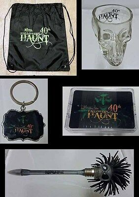 Knotts Berry Scary Farm Halloween Haunt 40th Souvenir Lot of 5 Items! 2012