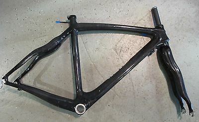 Full Carbon Cycling Road Bike Frame 50cm Bicycle Frame Fork Clamp