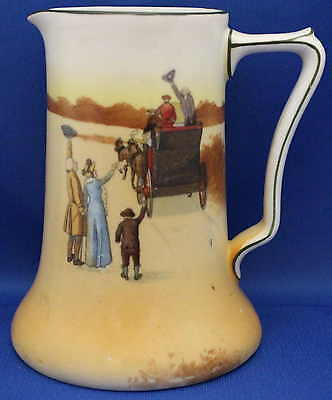 "Royal Doulton SeriesWare Milk Jug - ""Coaching Days"" - E3804 - QualityBone China"