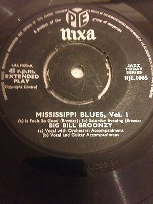 Big Bill Broonzy 45 Rpm Ep