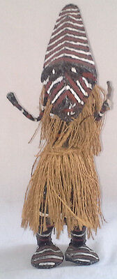 Voodoo doll, Witch Doctor & Tribal Carved African head/bust