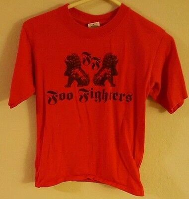 Foo Fighters Youth Large Concert T Shirt In Your Honor Tour 2005 Dave Grohl