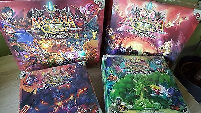 Arcadia Quest Inferno : Hell of a Pledge - KICKSTARTER - Complete - OVP - Sealed