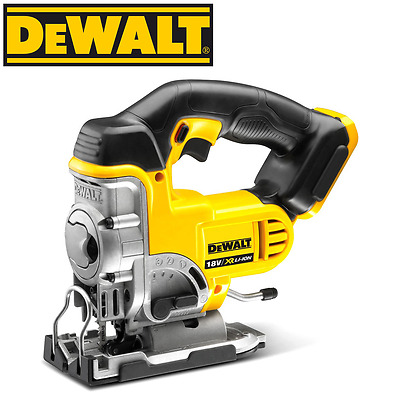 DeWalt - 18V XR Li-Ion Cordless Brushed Jigsaw - DCS331N-XE - Skin Only