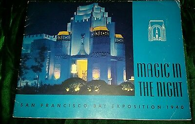 1940 MAGIC IN THE NIGHT Official Program GOLDEN GATE INT'L EXPOSITION SAN FRAN