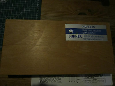 Huber Suhner 74 Z-0-0-70 and 74 Z-0-0-72 SMA toolsets