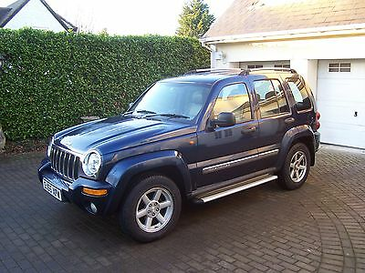 2005 Jeep Cherokee 2.8 CRD Auto Limited Edition Full Service History MOT Aug '17