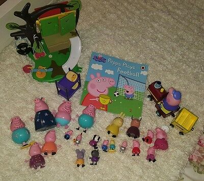 peppa pig toy bundle over 20 toys