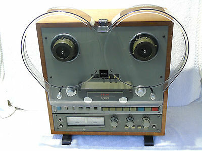 TEAC X-20R Auto Reverse 10.5in Nab 1/4in Reel To Reel Tape Recorder Player