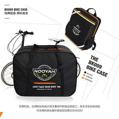 """16""""-20"""" Folding Bike Carrier Bag Bicycle Carry Bag  With Storage Bag Pouch"""