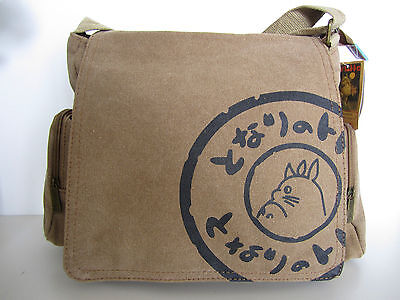 Ghibli Anime My Neighbour Totoro High Quality Canvas Bag Shoulder Messenger Bag
