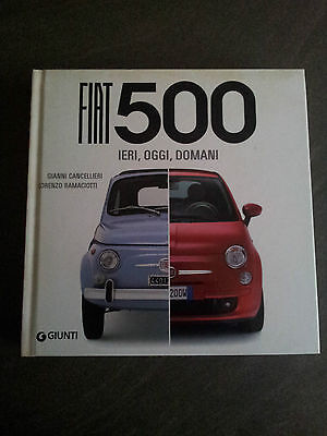 Fiat 500 book in Italian..the history of