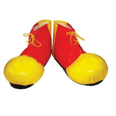 Clown Shoe Covers Adults Circus Fancy Dress Costume Shoes Boots Accessory