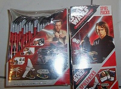 Starwars Pocket Models Trading Card Games German Text
