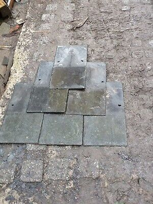 "EXCELLENT QUALITY reclaimed welsh slates 24"" X 12"""