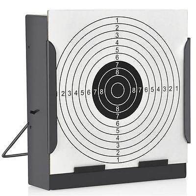 14CM Shooting Target Holder & 100 Targets Air Rifle Airsoft Pellet Trap NEW
