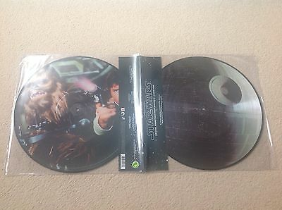 STAR WARS A NEW HOPE 2 x PICTURE DISC VINYL NEW UNPLAYED EPISODE IV